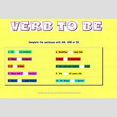 L'anglès A L'escola Splai  Verb To Be Exercise (5th Grade