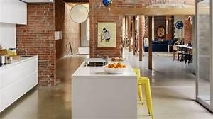 Pinterest Cuisine : am nager une cuisine ouverte c t maison ~ Carolinahurricanesstore.com Idées de Décoration