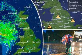Storm Aileen: UK weather forecast warns of power cuts and ...