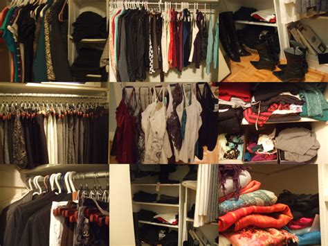 how i decluttered my closet