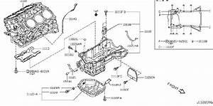 Nissan Quest Engine Crankshaft Seal  Rear   Assembly