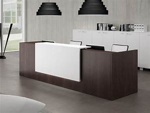 Medical office reception desk, used modern reception desk ...