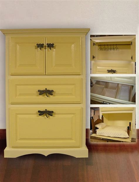 Large Wardrobe Cabinet by Made Large Doll Wardrobe Cabinet By Mike Willis