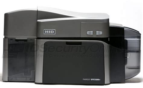 fargo dtce dual sided id card printer