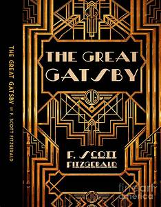 The Great Gatsby Book Cover Movie Poster Art 6 Digital Art ...