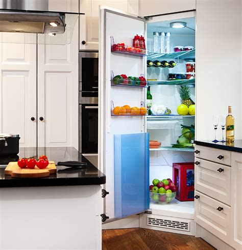 build own kitchen cabinets the integrated corner fridge for your kitchen