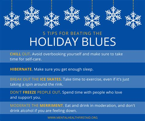 tips  beating  holiday blues alliance  safe