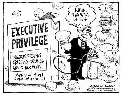 Cartoon Executive Privilege President Wasserman Globe Boston