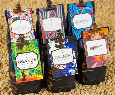 One was the papua new guinea , which i wrote about last week. A Bouquet of Starbucks Reserve Coffees from East Africa