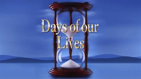Days Of Our Lives Will Air Tomorrow At Noon  Nbc 10