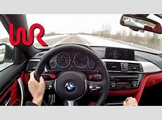 2014 BMW 435i xDrive 6Speed Manual WR TV POV Test
