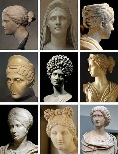 Roman Ancient Rome Hairstyles Female Hair Wear
