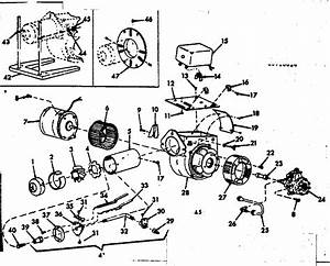 Oil Burner Assembly Diagram  U0026 Parts List For Model 867148