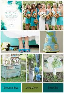 33 best images about weddingblue green on pinterest With blue and green wedding ideas