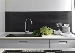 slate backsplashes for kitchens modern kitchen backsplash ideas black gray tiles