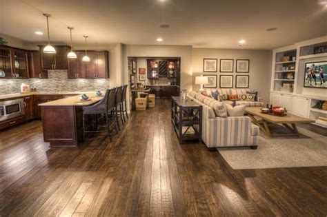 home floor plans with basements amenagement cuisine ouverte sejour cuisine en image
