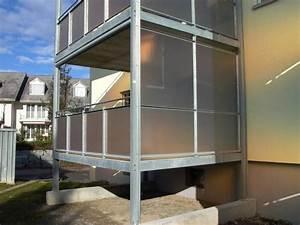 buhlmann metallbau ag littau ihr partner fur With französischer balkon mit windschutz für garten