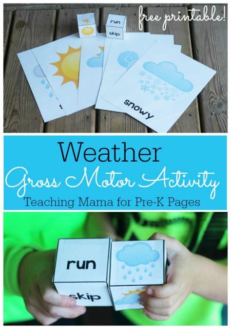 weather theme movement game weather activities preschool