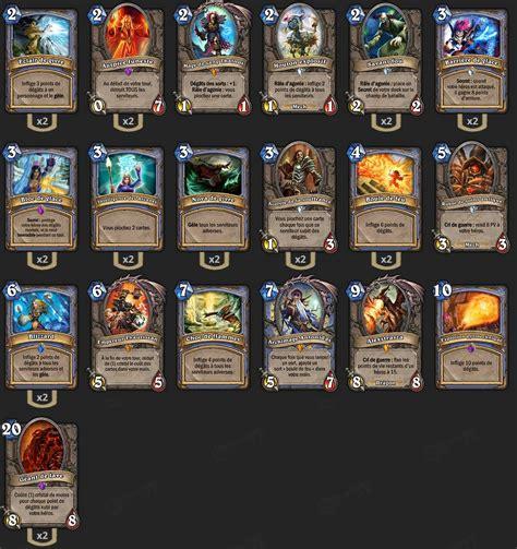hearthstone zoolock deck brm deck mage brm hearthstone heroes of warcraft