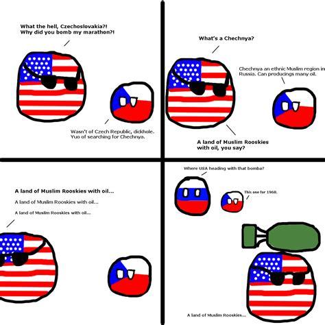 Countryball Meme - polandball 187 polandball comics 187 a land of muslim rooskies with oil