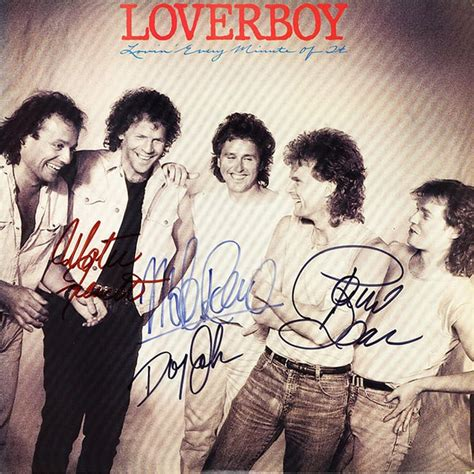 Their greatest hits for free, and see the artwork, lyrics and similar artists. Loverboy Band Signed Lovin' Every Minute Of It Album ...