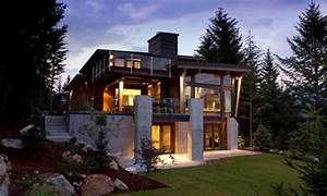 Mountain Modern Architecture Home Design Contemporary ...