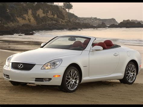 2007 Lexus Sc Pebble Beach Edition Hardtop Convertible