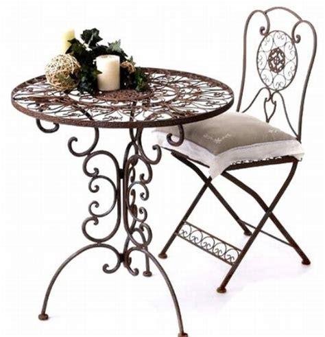 gartentisch mit stühlen bistrotisch mit 2 st 252 hlen metall bestseller shop f 252 r