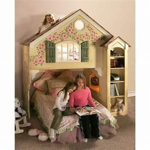 Doll house loft bed plans kids room pinterest for Dollhouse loft bed plans
