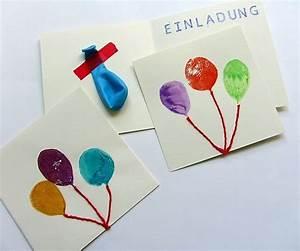 Basteln Mit Kindern 5 Geburtstag : einladungskarten f r den kindergeburtstag basteln kreative ideen zum selber machen k lner ~ Whattoseeinmadrid.com Haus und Dekorationen