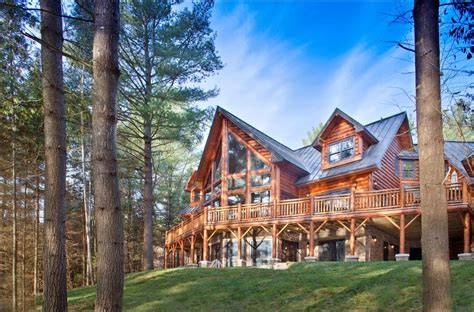 wisconsin log homes