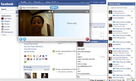 Video Chat Face  Facebook Trucos
