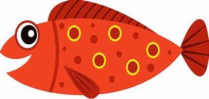 Fish Transparent Clipart Background Cartoon Fishing Clip