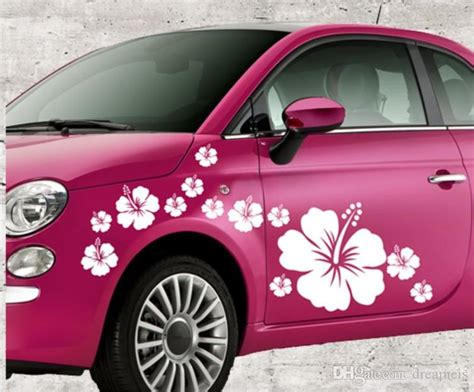 flower graphic vinyl art wall stickers car body sticker