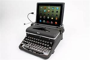 Ipad Mit Abo : recycling antike schreibmaschinen als computertastaturen ~ Kayakingforconservation.com Haus und Dekorationen