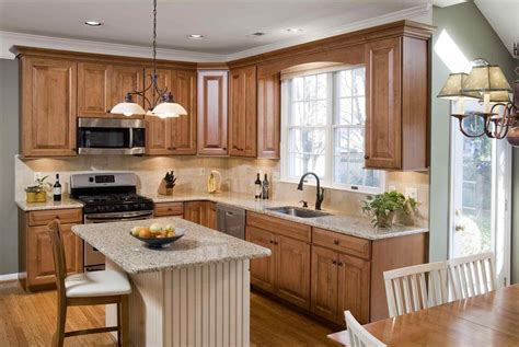 kitchens with white appliances and oak cabinets the images collection of gloss brown granite farmhouse 9860