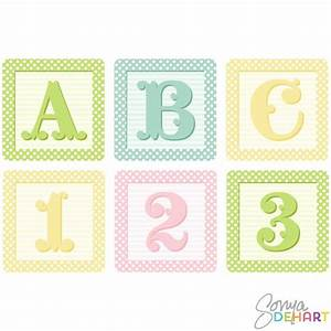 cutest baby block clip art vector shaby french baby With baby block letters