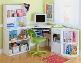 art desk with storage organization for kids room