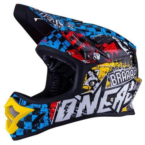 kids motocross helmets casque cross o 39 neal 3 series youth wild 2018 enfant