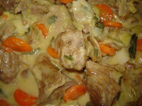 cuisiner une blanquette de veau blanquette de veau à ma façon un peu de rêve dans ma cuisine
