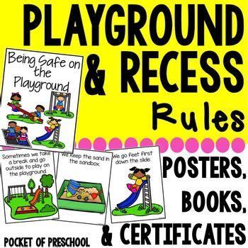 playground amp recess book posters amp student 595   d84928a4e75a40046966739a21616bec preschool behavior preschool education