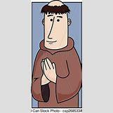 Cartoon Praying Hands With Rosary | 212 x 470 jpeg 21kB