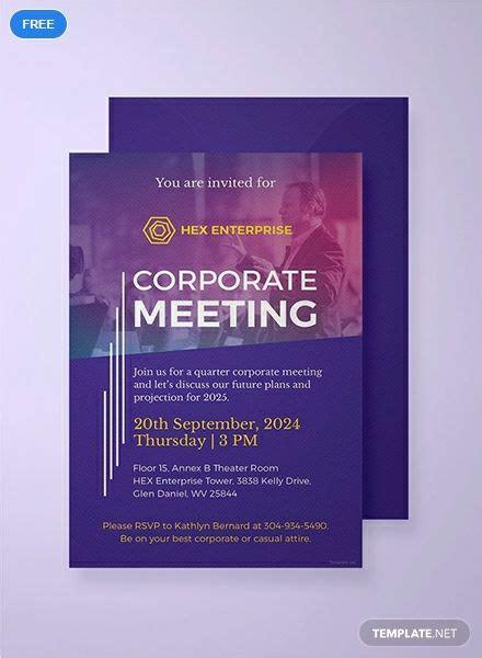 corporate invitation template