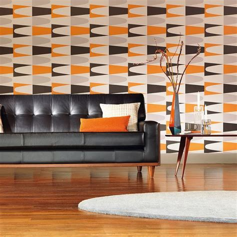 decorating with retro wallpaper 32 eye catchy ideas digsdigs
