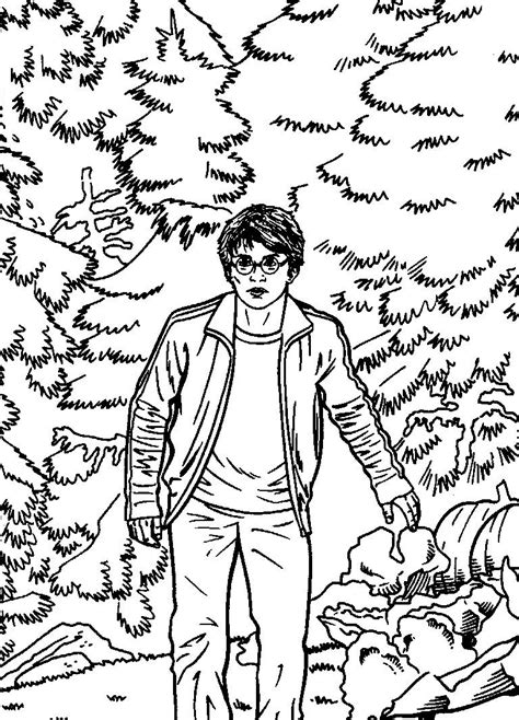 Coloring pages harry potter picture 54