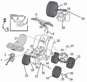 Power Wheels Lil Quad 2002 Parts