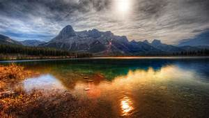 Nature, Hdr, Sunset, Lake, Landscape, Mountain, Reflection