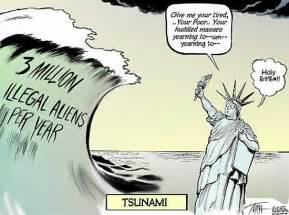 Illegal Immigration Political Cartoons