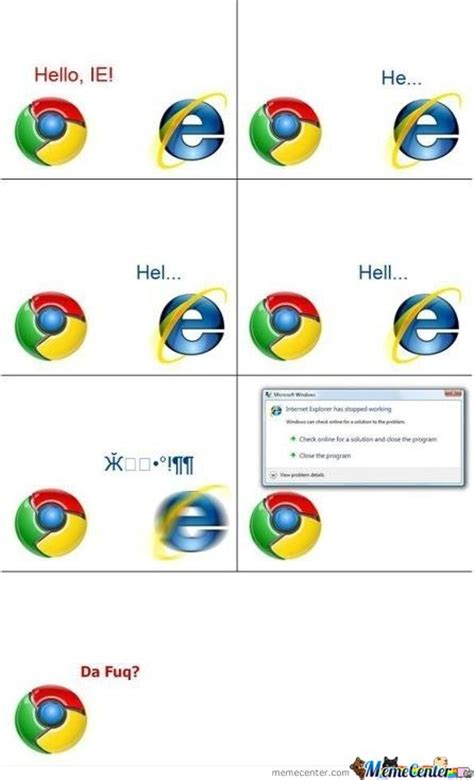 Ie Meme - image 344839 internet explorer know your meme