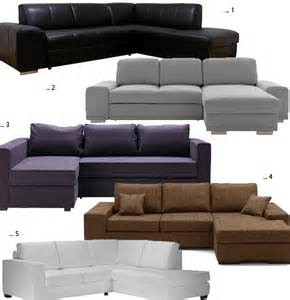 Canape Ikea Angle Manstad by Canap 233 Angle Convertible Ecologique Univers Canap 233